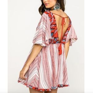 Free People Under The Sun Tunic XS Red